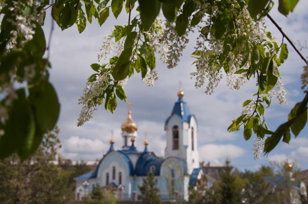 Введенский храм города Сосновоборска